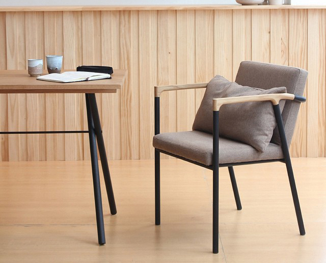 ébénisterie design franck grossel table pliante folding table