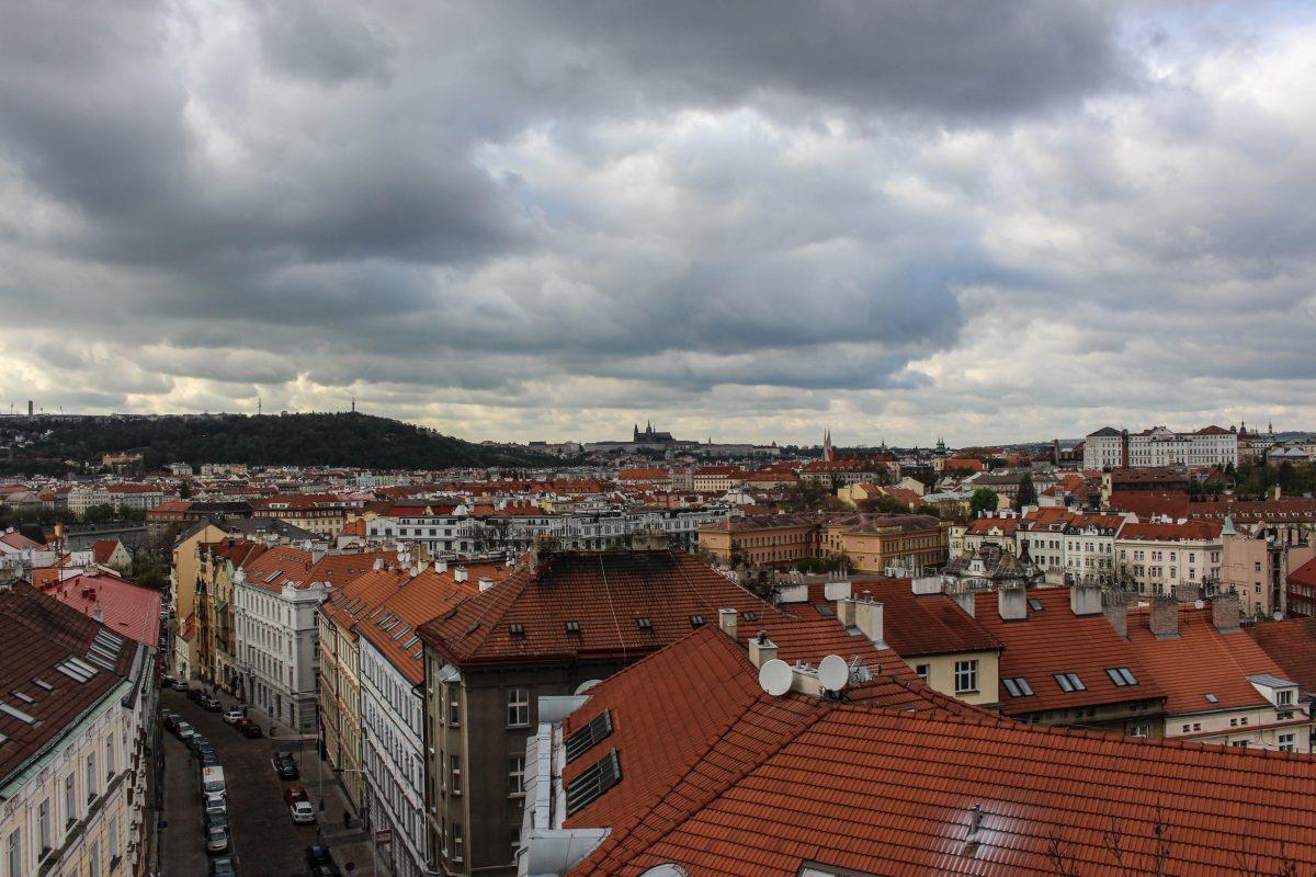 vue des toits prague