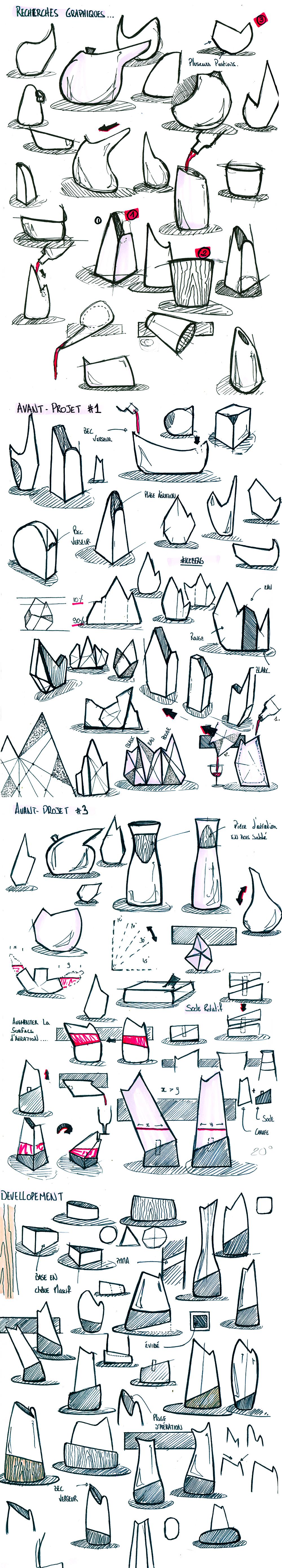 sketch design caraf