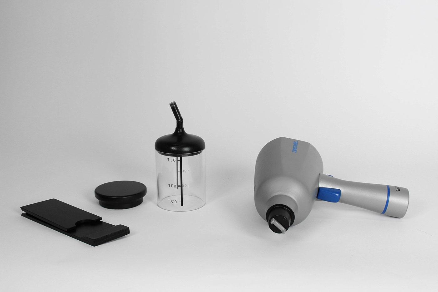 pistolet a peinture franck grossel. Black Bedroom Furniture Sets. Home Design Ideas